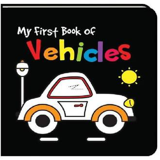 My First Book Of Vehicles - Black And White