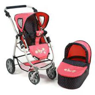 Chic Bayer 2 in 1 doll stroller combo