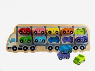 1 - 10 Car Puzzle