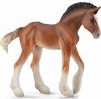 Collecta - Clydsdale Foal Bay