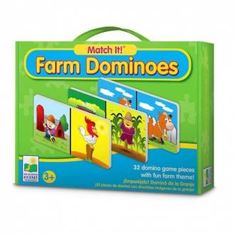 Match it Farm Dominoes