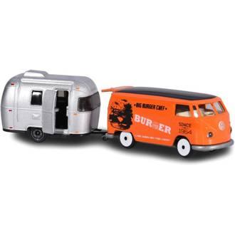 Majorette Vintage Trailers Airstream Sport 16 Burger Van
