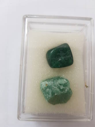 Mineral And Gem Collection - Green Adventurine