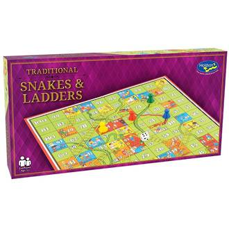 Traditional Snakes And Ladders