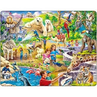 Larsen Tray Puzzle - Zoo