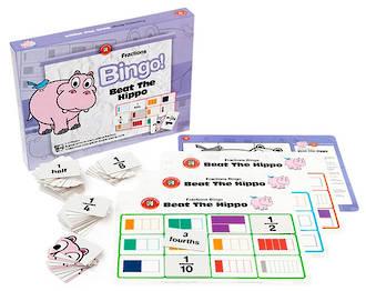 Fractions Bingo - Beat The Hippo