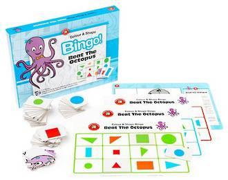 Colour & Shape Bingo - Beat The Octopus