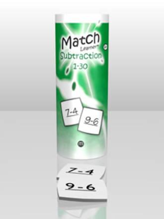 Match Learner - Subtraction 1- 30
