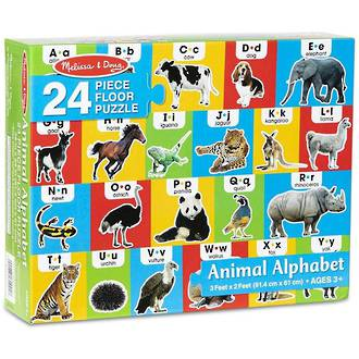 Melissa & Doug Floor Puzzle - Animal Alphabet