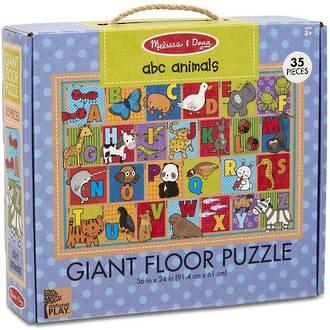 Melissa & Doug - ABC Animals Giant Floor Puzzle 35 Pieces