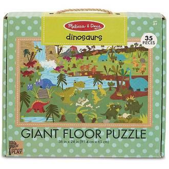 Melissa & Doug Giant Floor Puzzle - Dinosaurs 35 Pieces