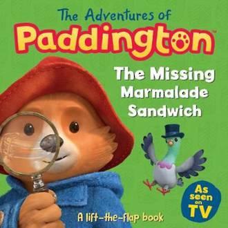 Paddington Bear The Missing Marmalade Sandwich