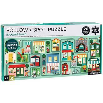 Follow & Spot Puzzle Around Town 10 Piece