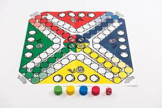 Ludo Floor Game