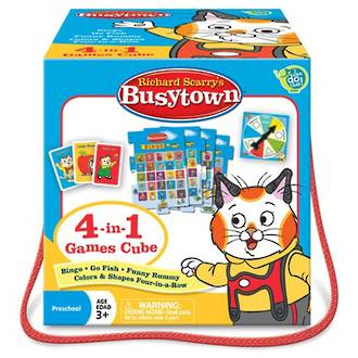 Richard Scarry's Busy town 4 in 1 Games cube
