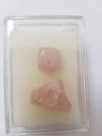 Mineral And Gem Collection - Rose Quartz