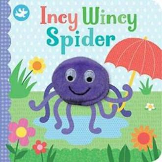 Incy Wincy Spider Board Book With Finger Puppet