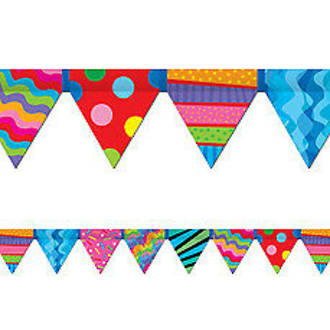 Poppin Patterns Pennant