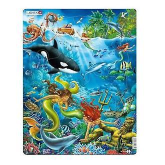 Larsen Tray Puzzle - Mermaids 32 pieces