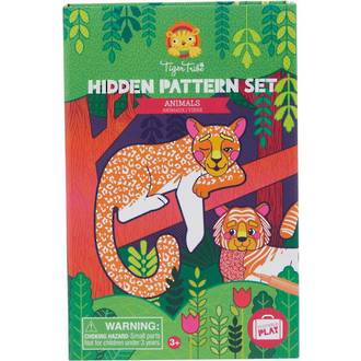 Tiger Tribe Hidden Pattern Set Animals