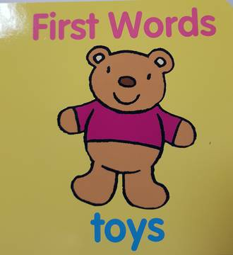 First Words Toys - Board Book