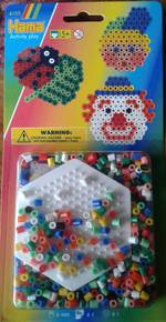 Hama Hexagon Set 350 Beads H4103
