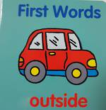 First words Outside - Board Book