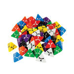 4 Sided Dice Polyhedral Large