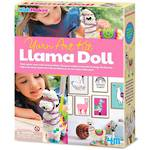 4M KidzMaker Make Your Own Llama Doll