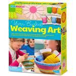 4M KidzMaker Make Your Own Weaving Art