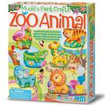 4M Mould & Paint Zoo Animal
