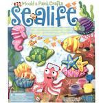 4M Mould & Paint Crafts, Sea Life
