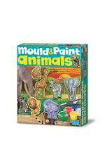4M Mould & Paint Wildlife Animals