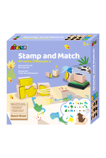 Stamp and Match Create Dinosaurs