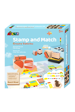 Stamp and Match Create Vehicles