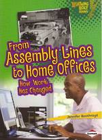From assembly lines to home offices - how work has changed by Jennifer Boothroyd