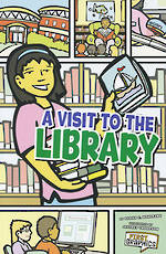 A visit to the library by Sarah C. Wohlrabe