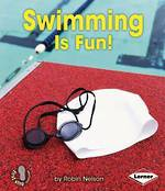 Swimming is fun by Robin Nelson