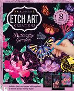 Etch Art Creations: Butterfly Garden 8 panels