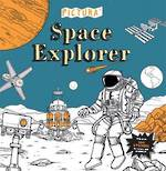 Space Explorer - Creative colouring by Pedro Correa