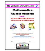 Help Me at Home Student Workbook Series Book1