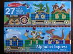 Melissa & Doug Floor Puzzle Alphabet Express