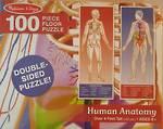 Melissa & Doug Floor Puzzle Human Anatomy