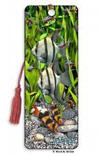 3D Bookmark - Angelfish