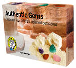 Discover Science Authentic Gems Excavation Kit