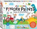 Awesome Finger Prints Kit Farm & Dinosaur