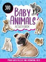 Baby Animals Activity Book with over 300 stickers