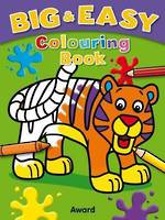 Big and Easy Colouring Book Tiger