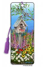 3D Bookmark - Birdhouse