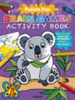 Puzzle Fun Brain Games Activity Book Koala